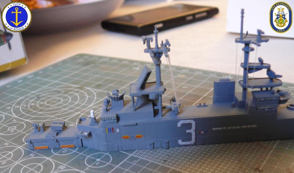 USS KEARSARGE LHD-3 1/700 REVELL 297276Kearsarge28