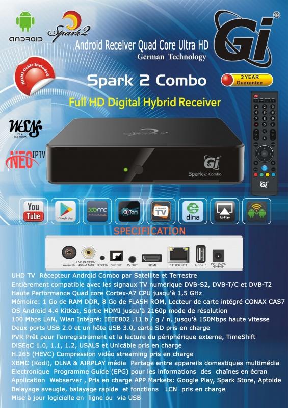 الجهاز الجديد GI SPARK2 COMBO 297661FLYERSPARK2COMBOfr