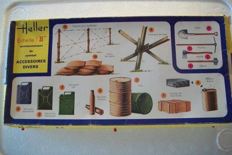Equipement de Combat (Réf.131) Accessoires Divers 1/35 298429Heller131EDCAccessoiresDivers001