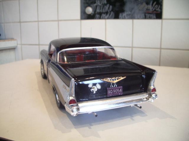 chevrolet bel air hardtop 1957 de chez amt au 1/16 298681IMGP8810