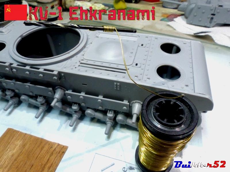 KV-1 Ehkranami  -  TRUMPETER 1/35 299551P1030091