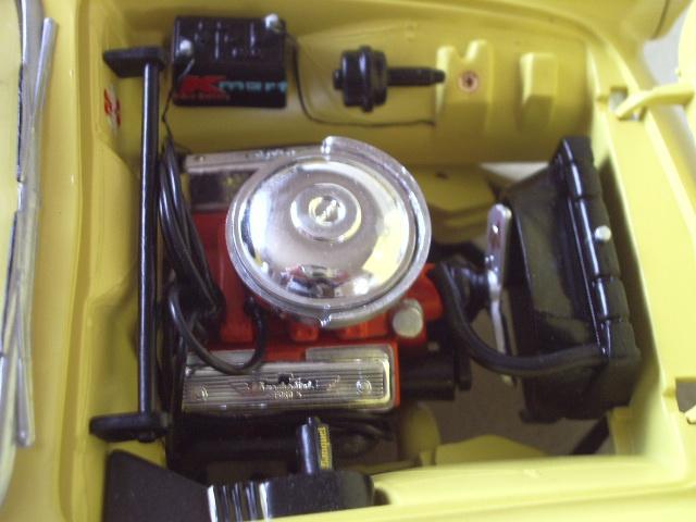 ford thunderbird 1955 au 1/16 de chez amt  2998272234
