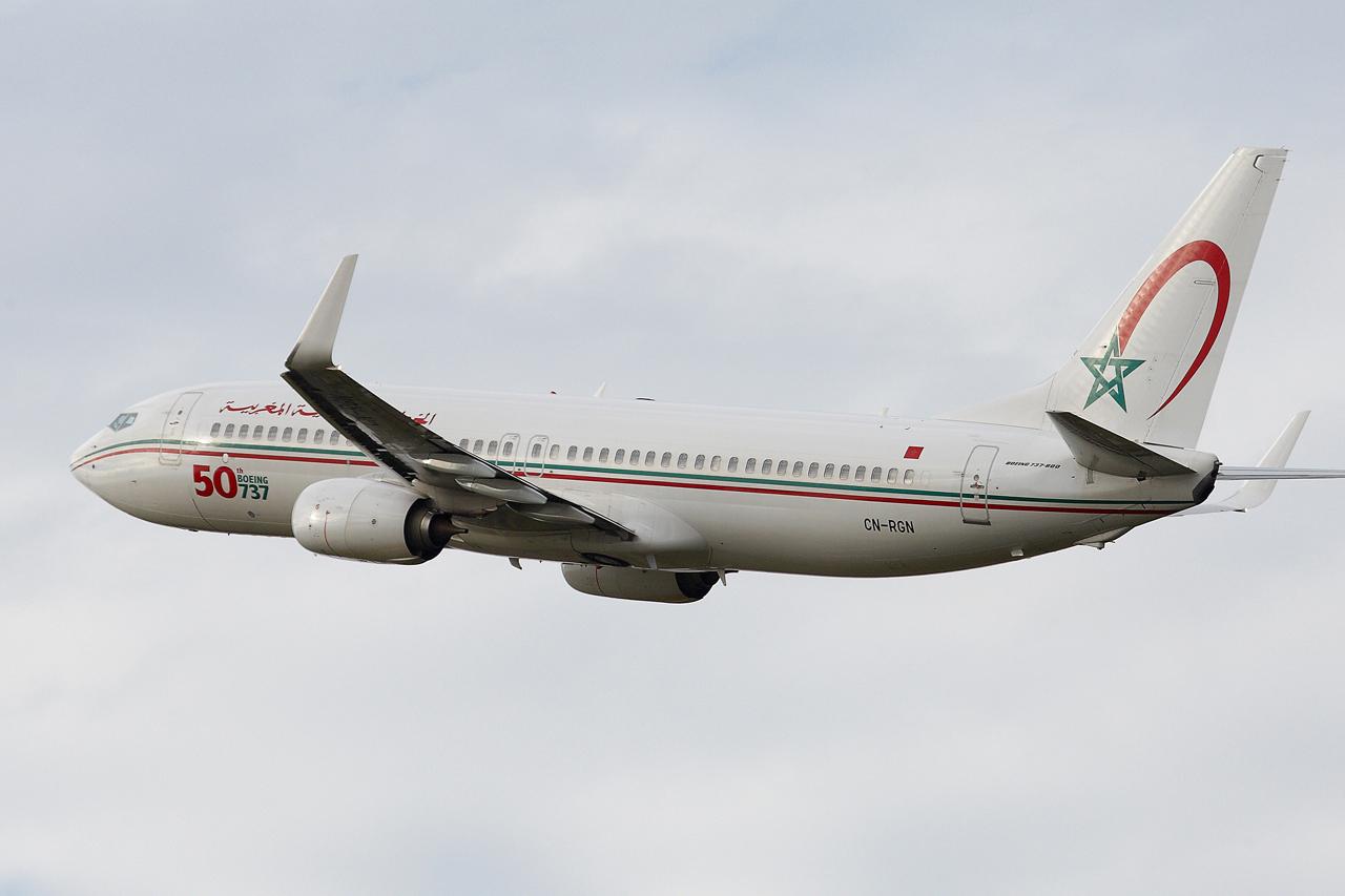 [ 18/05/2013 ] B737-8B6 Royal Air Maroc (CN-RGN) 50 th boeing 737 299913GRX9147