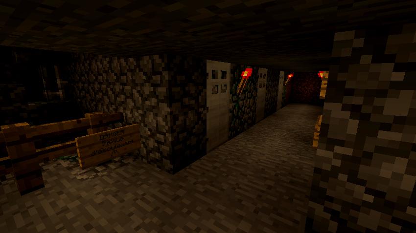 Minecraft & Alvena font bon ménage 300083Cachots