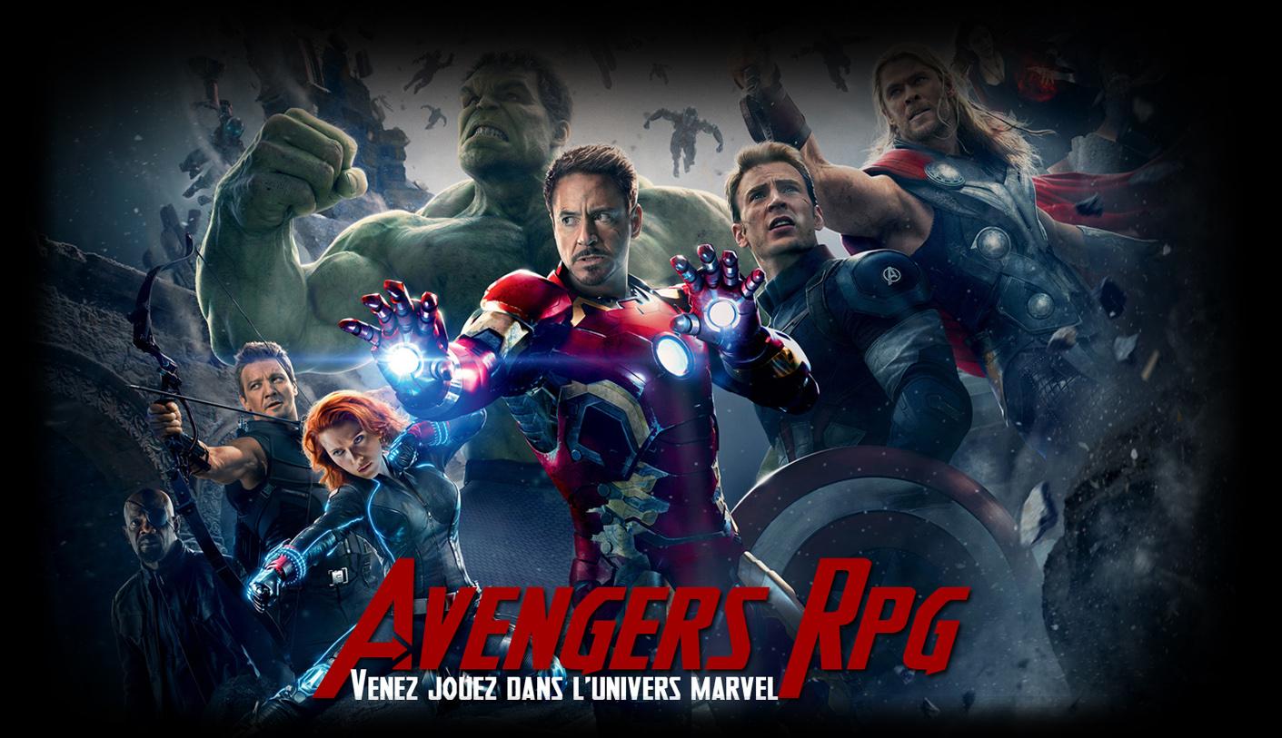 Avengers RPG : Jouez dans l'univers ciné