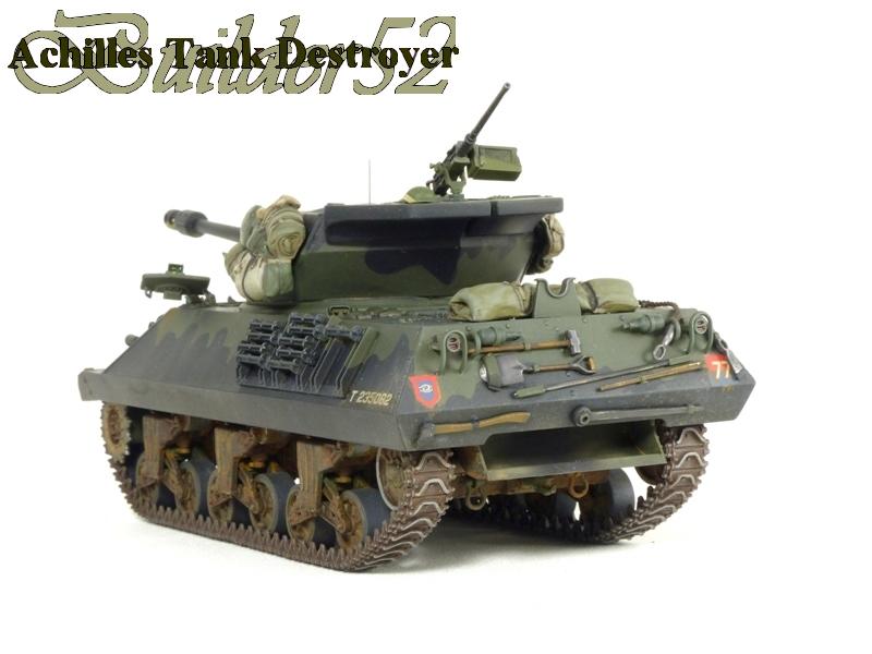 Achilles Tank Destroyer - Academy-Italeri + RB Model + set Blast 1/35 303514P1040531