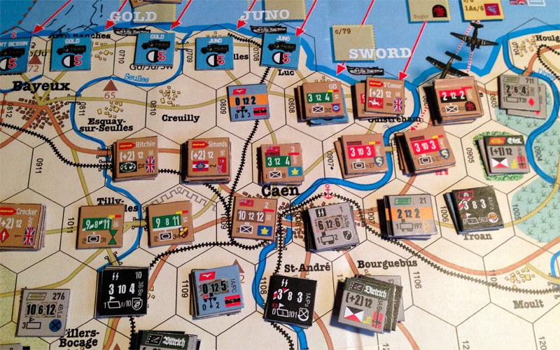 Normandie 1944, un été sanglant (Ludifolie Editions) - Page 2 304278caen
