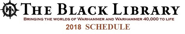 Programme des publications The Black Library 2018 - UK 304753201810