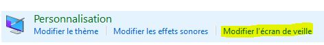 Ecran de veille windows10 305306153