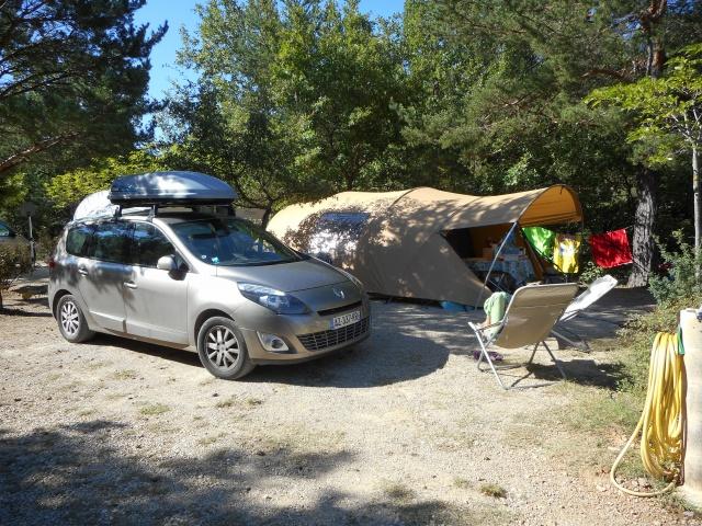 Camping le Vieux Chêne à Bauduen Lac St Croix 305447DSCN0141