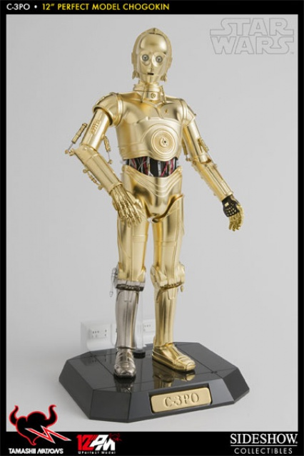 STAR WARS - C3PO - Perfect Model (TAMASHII AND SIDESHOW PERFECT CHOGOKIN) 3075389051
