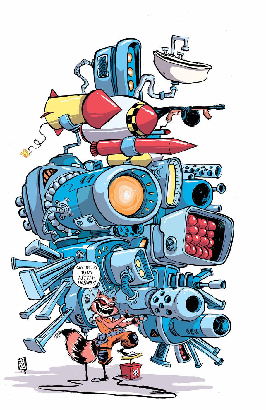 [Comics] Skottie Young, un dessineux que j'adore! - Page 2 310193rocketraccoon11