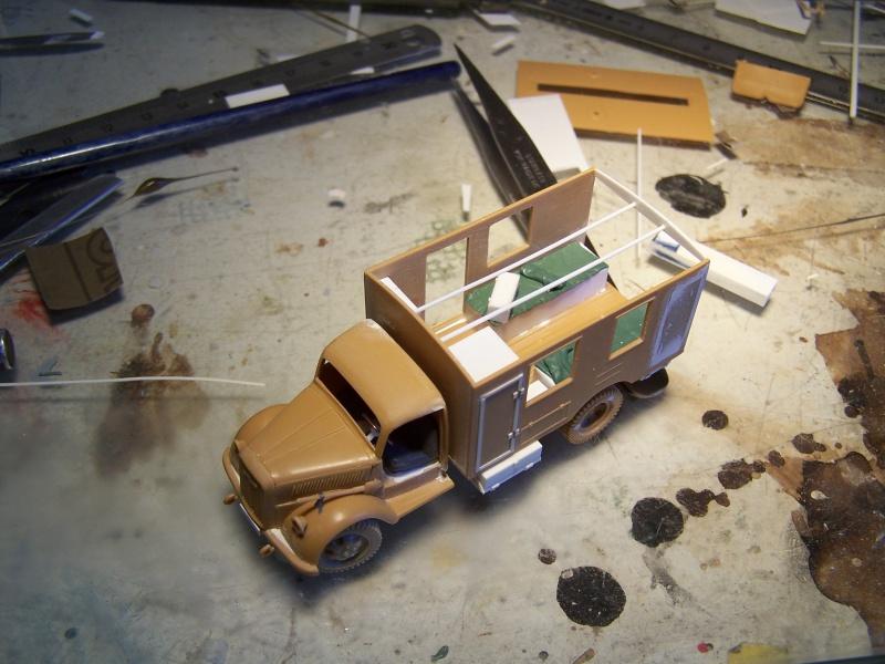 Opel Blitz Ambulance Normandie été 1944 3102511005852