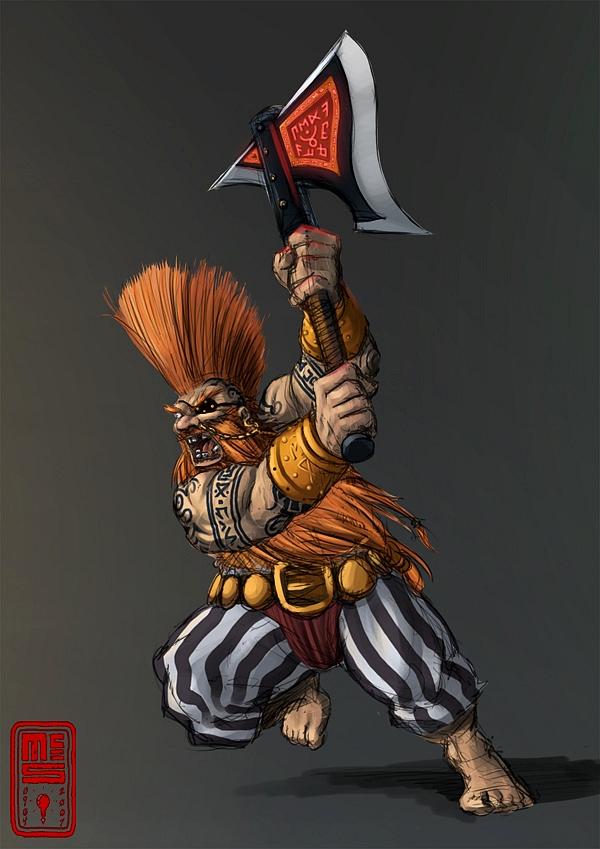 [Warhammer Fantasy Battle] Images diverses 311094Gotrek3