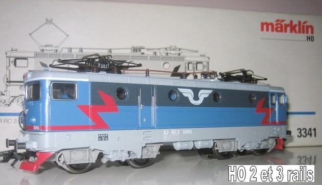 Machines RC des chemins de fer suédois 311188Mrklin3341ELokBRRC31061R
