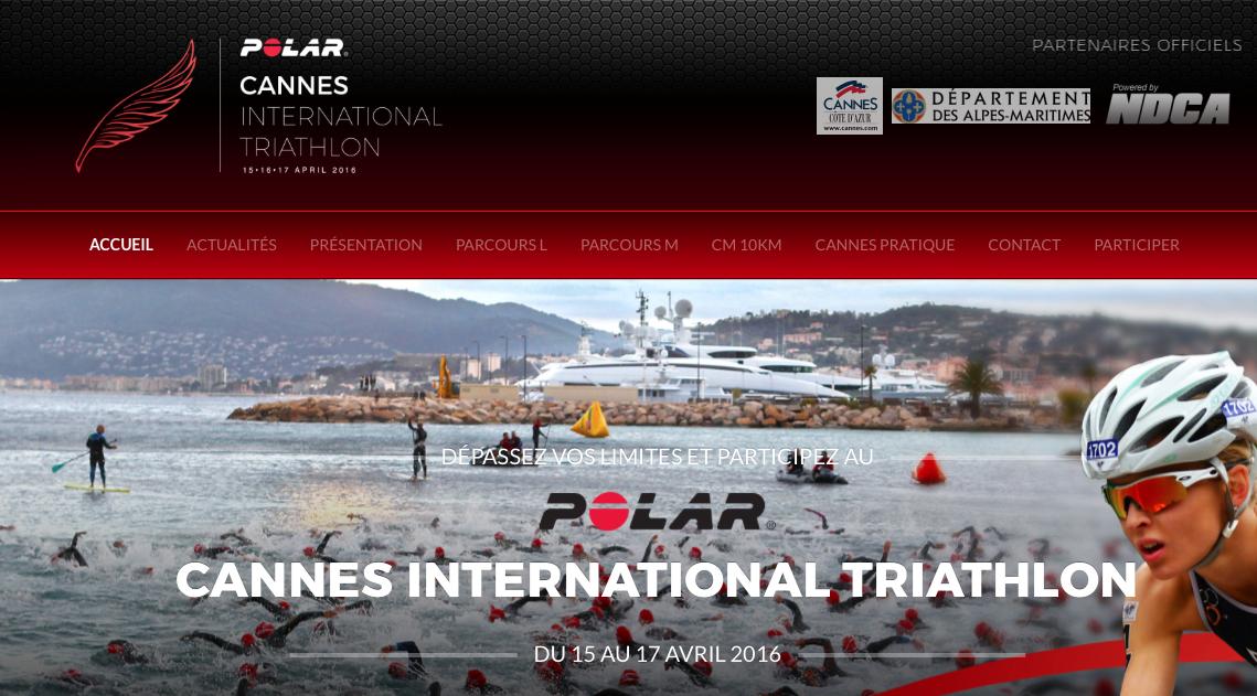 Cannes International Triathlon - 15/17 Avril 2016 - 311844Capturedcran20160503102808