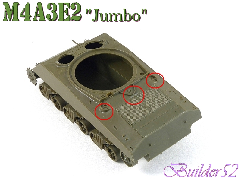 SHERMAN M4A3E2 JUMBO - TASCA 1/35 311890P1050208