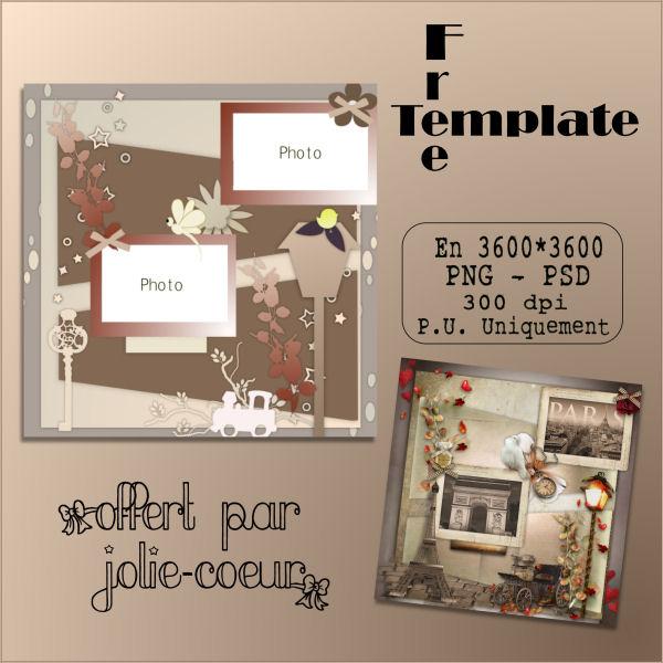 "Template ""forme1"" 312258PVaTemplateForme1JolieCoeurScraps"