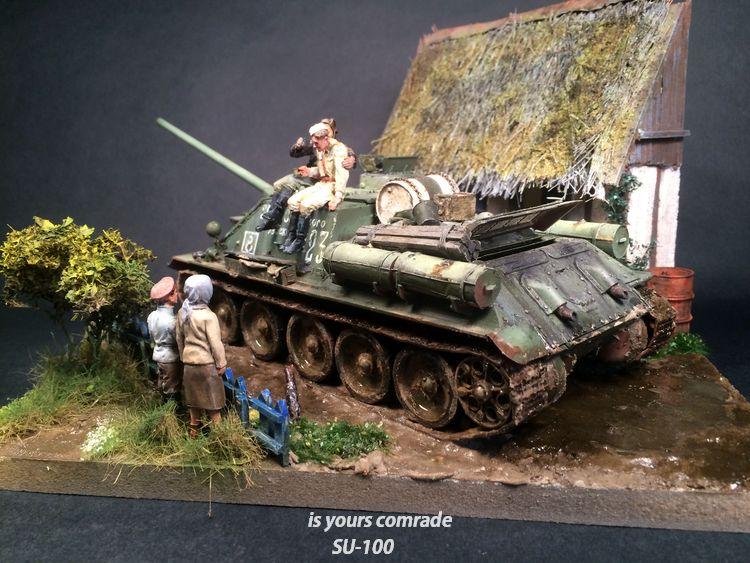 SU-100 marque Dragon 1/35 - Page 3 312294IMG4093