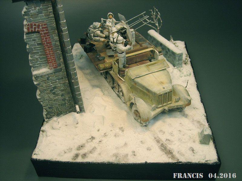 SdKfz 7/1 Flakvierling - Tamiya Miniart 1/35 312546Dio3708SdKfz71Vierli