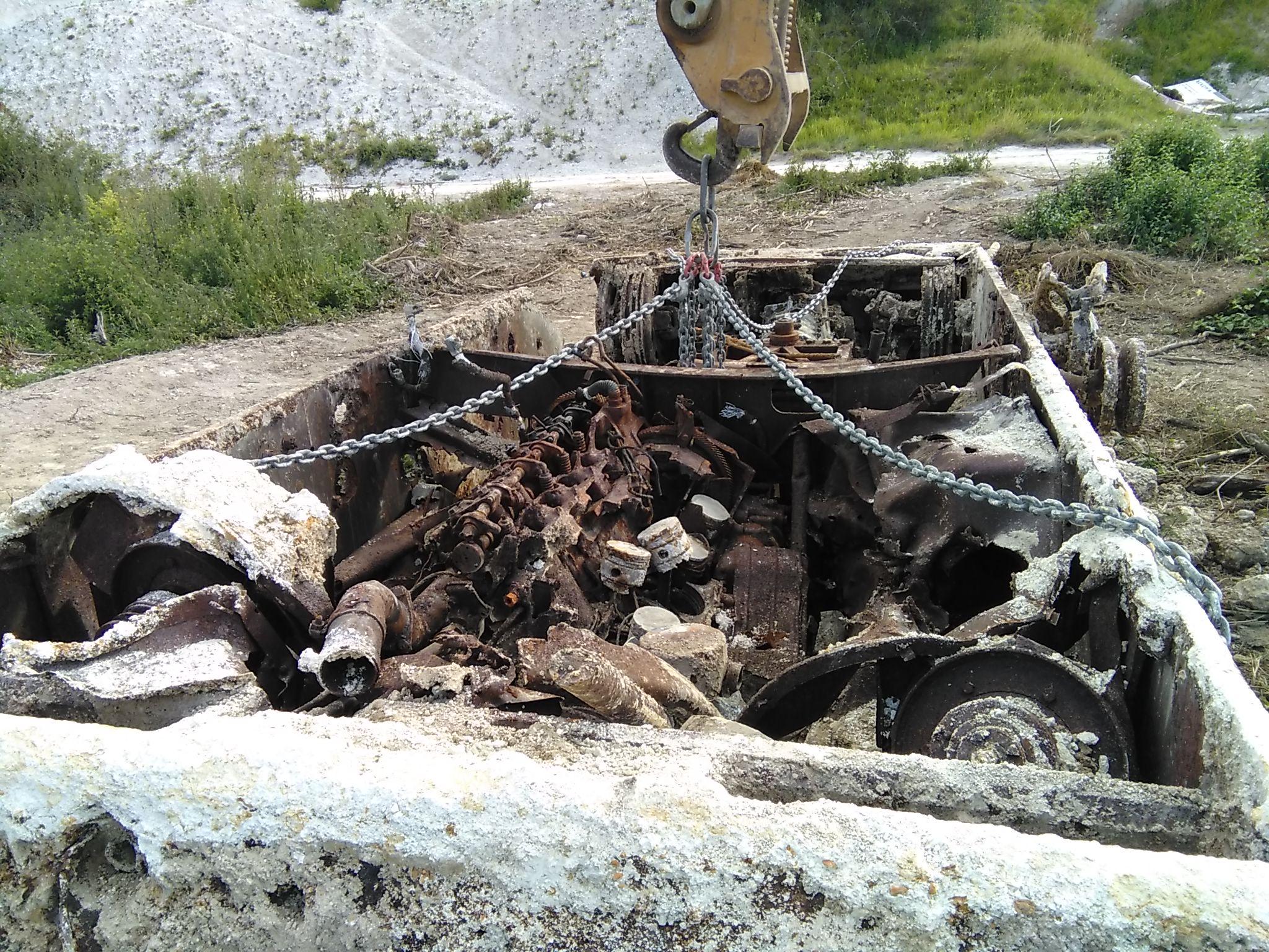Un panzer découvert près d'Epernay 31319115072906380013110613476984