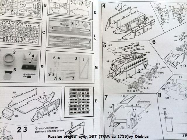 Russian brigde layer SBT (TOM MODELLBAU) 1/35 313642SBT005
