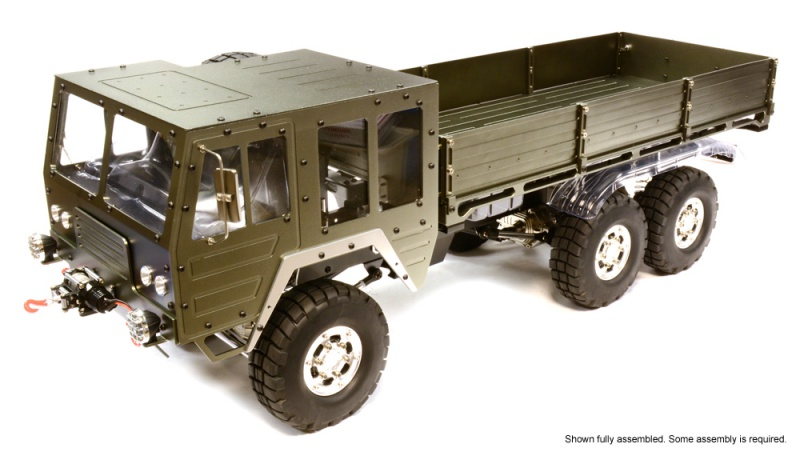 [NEWS]1/10 Scale 6x6 Off-Road Military Truck 314810C25853GUN2