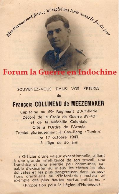 Capitaine François COLLINEAU de MEEZEMAKER III/69è RA Cao Bang 1947 315030img879