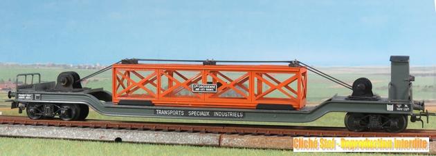 wagons spéciaux surbaissés 316285VBsurbaissbogiesgrisguritepoutrelleorangeIMG3510