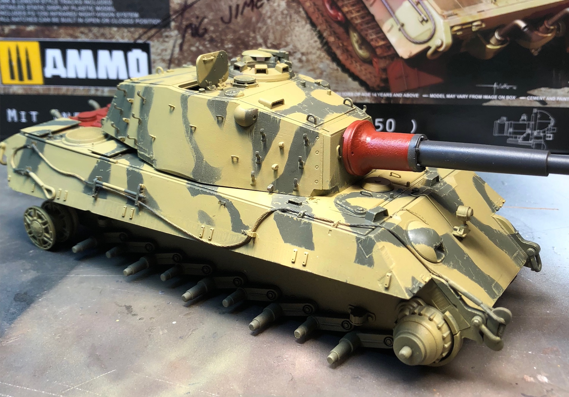 "King Tiger Ammo ""What If"" 317578Weathering1"