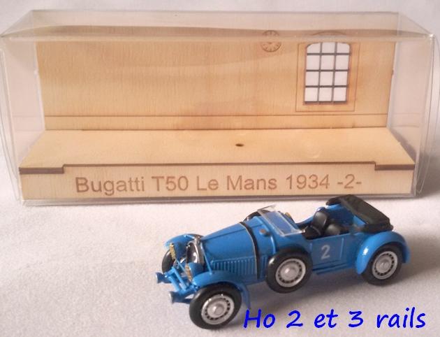 """Wagon porte autos Bugatti """"M. Fritz Schlumpf"""" 317915CarbamodelBugattiT50LeMans1934R"""