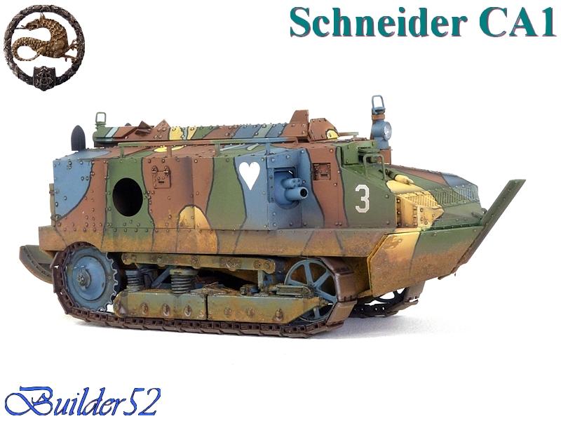 CHAR SCHNEIDER CA 1 - HOBBY BOSS 1/35 319248P1040962