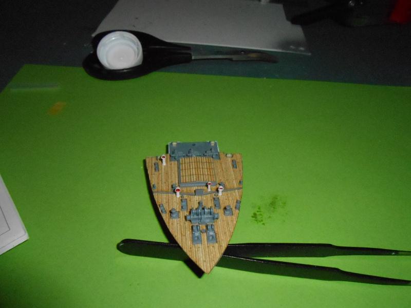 Hikawa Maru hopital 1/350 PE/pont en bois et babioles  - Page 3 321538DSCN5666