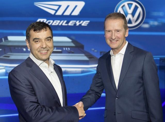Mobileye et Volkswagen forment un partenariat stratégique  321735thddb2016al00029large