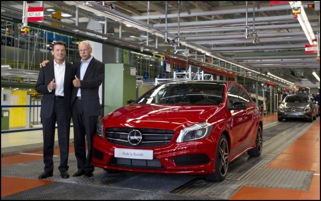 Mercedes Benz : Entrée en production de la Classe A 321800mercedesbenzaclassproduction1