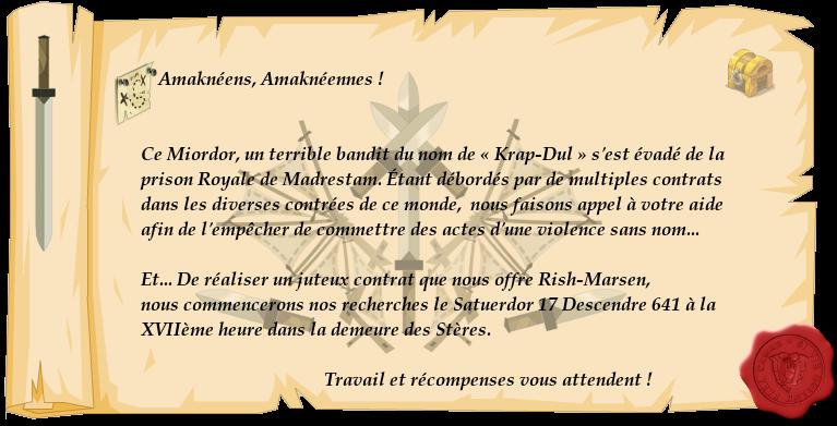 [Évent] L'évasion de Krap-Dul, bandit consanguin. 322165affichetest3