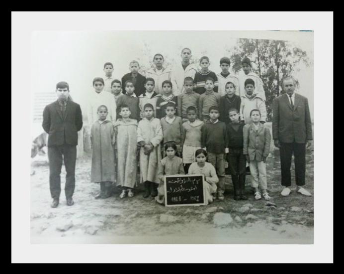 مدرسة الزواقين : صور قديمة لأطر التدريس  والتلاميذ في  الستينيات  322599zou