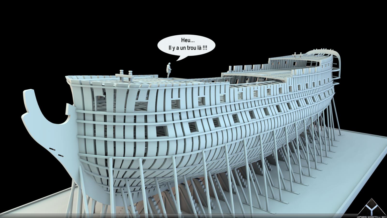 Etapes de construction 3D d'un navire de 74 canons. - Page 8 322749Navire74canons