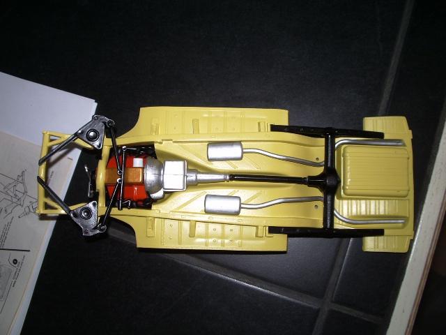 ford thunderbird 1955 au 1/16 de chez amt  3229741315