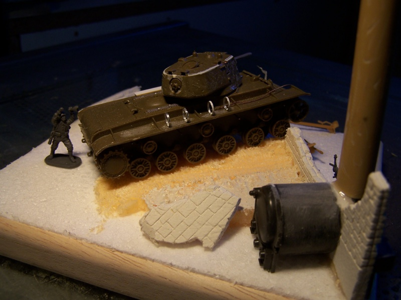 """""""Le duel"""" KV1c vs Panzergrenadiere Russie 1942 (terminé) 3231371005485"""
