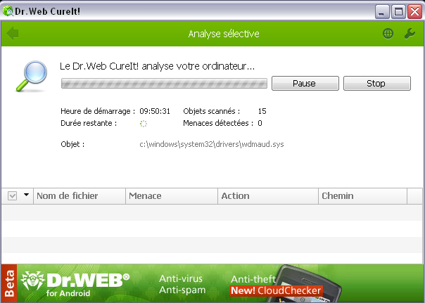 DrWEB CureIt 323635drwebanalyse