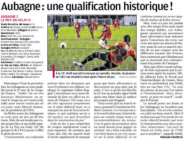 FC AUBAGNE // CFA2 GROUPE SUD EST  G - Page 4 323642902