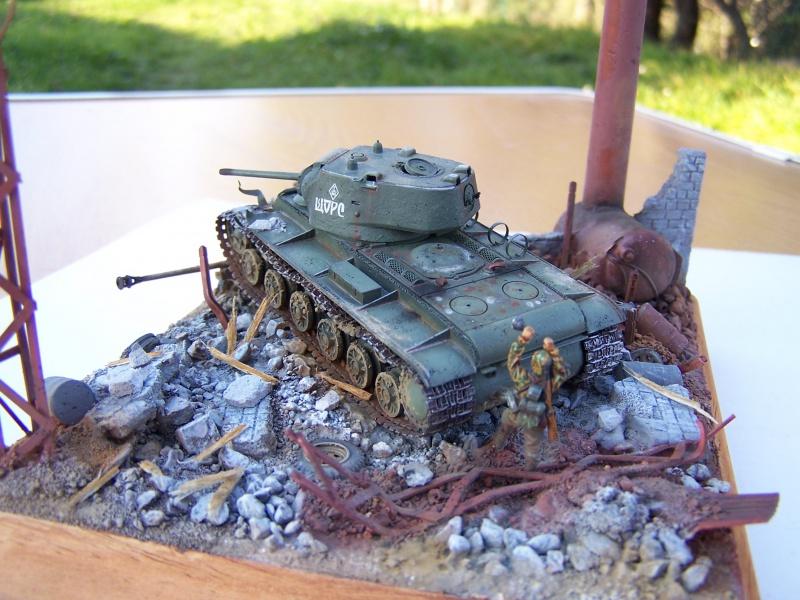"""Duel""  KV1c vs Panzergrenadiere Russie 42 3236851005502"