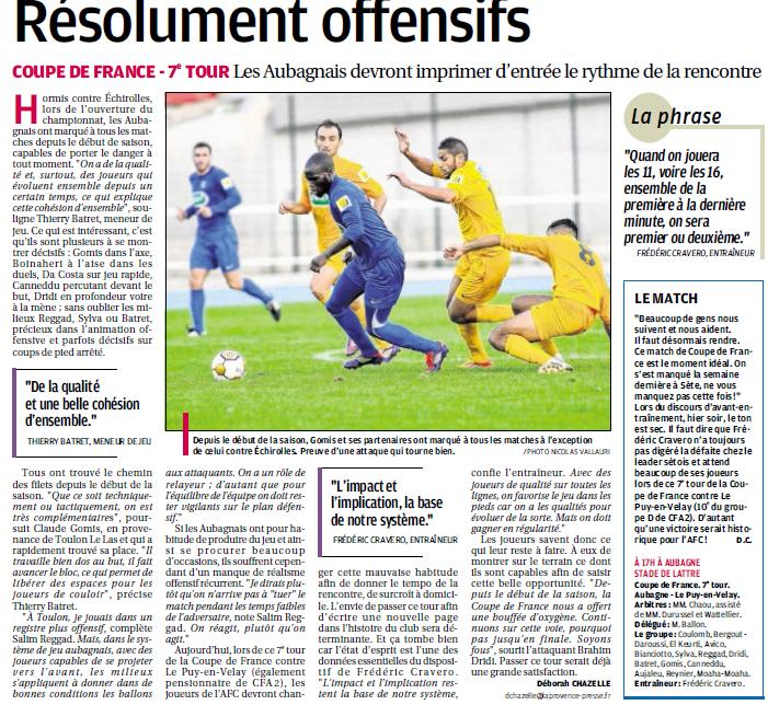 FC AUBAGNE // CFA2 GROUPE SUD EST  G - Page 3 324367823