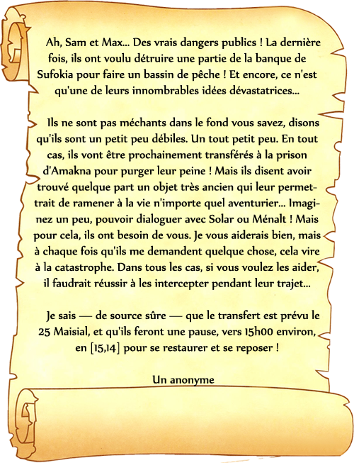 [Maisial 643] La Quête de la Pierre de Bélin 324571affichepierre0