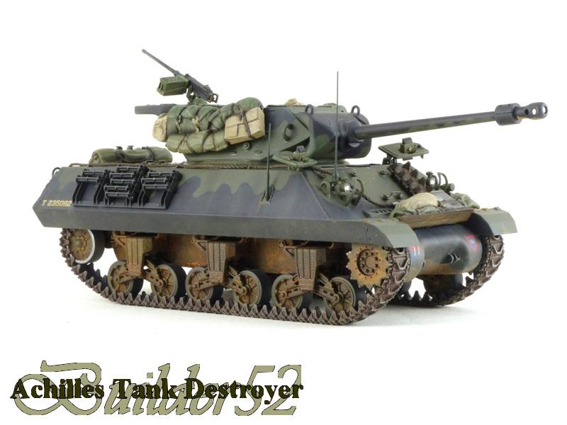 Achilles Tank Destroyer - Academy-Italeri + RB Model + set Blast 1/35 324691P1040529