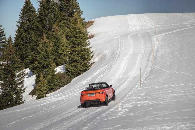 Range Rover Cabriolet, Un SUV Pour Toutes Les Saisons 326427RREVQConvertibleDrivingSnow09111507