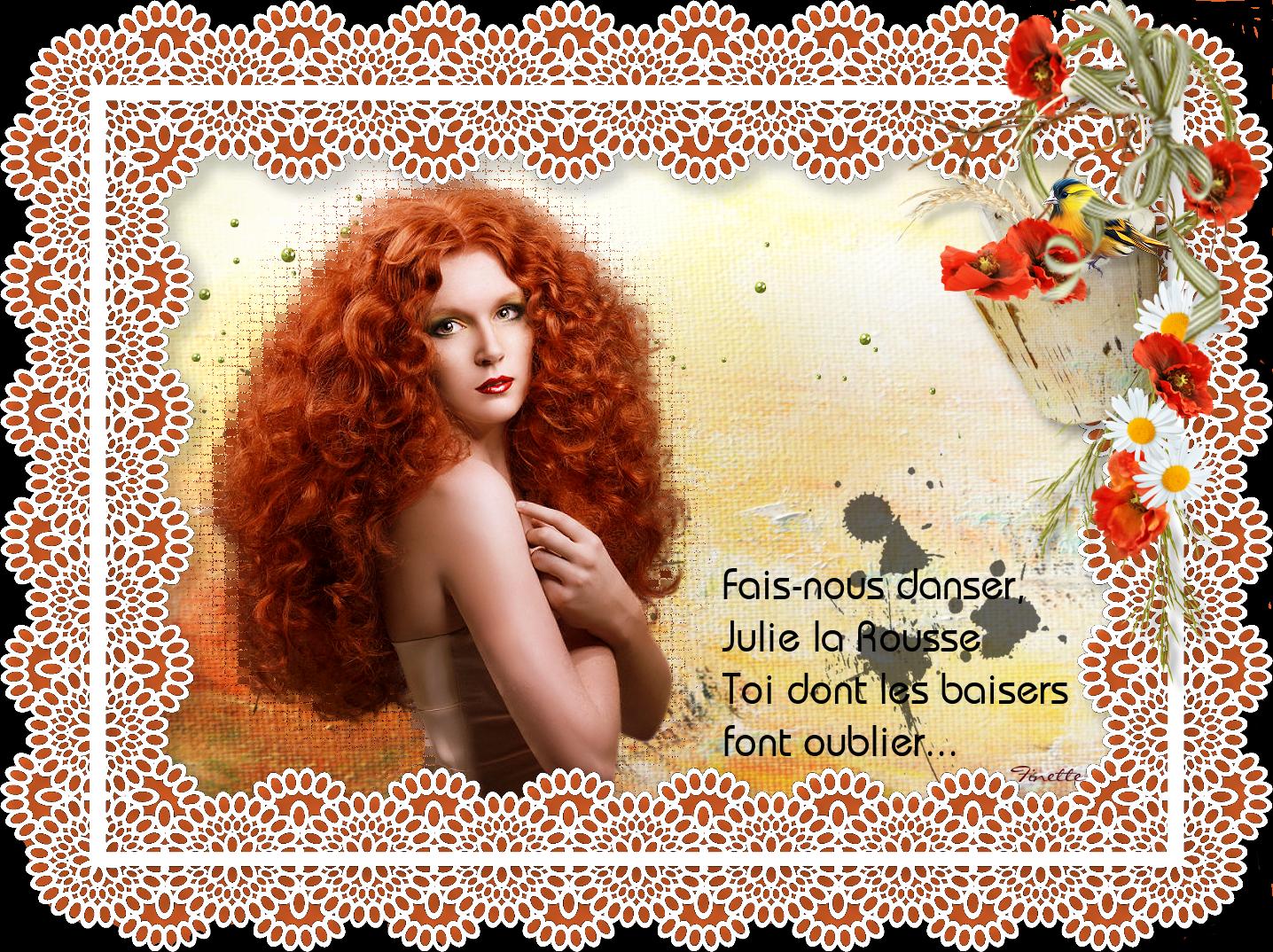 Julie la Rousse 328211julie