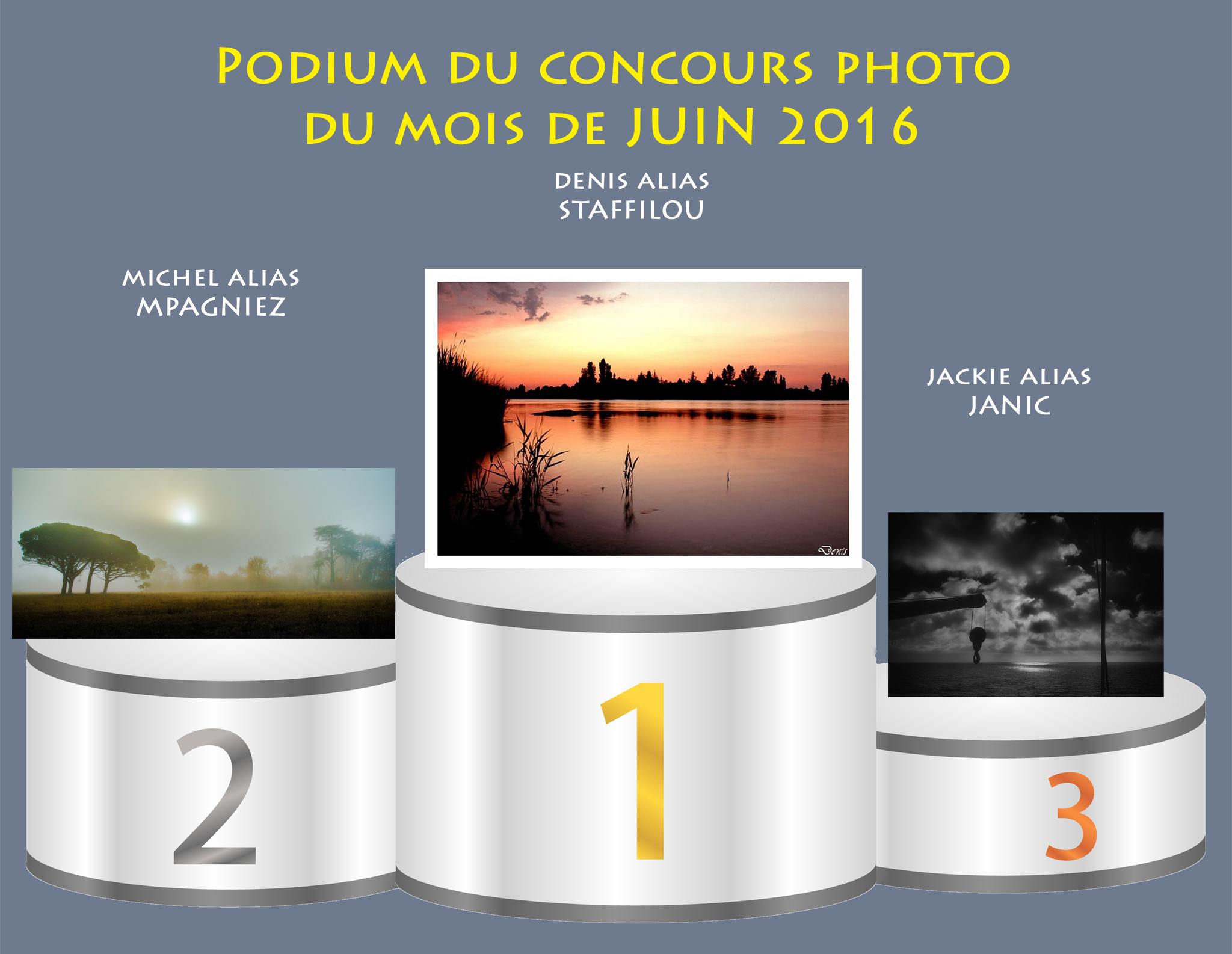 """Concours photo du mois de juin 2016 - Thème """" Lune ou Soleil """" (terminé) 328353Podiumjuin"""