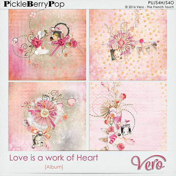 Véro - MAJ 02/03/17 - Spring has sprung ...  - $1 per pack  - Page 10 328396Veroloveisaworkofheartalbumpv